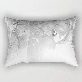 Hydrangea Still Life in Black and White #decor #society6 #buyart Rectangular Pillow