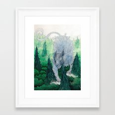 Jungle Cat II Framed Art Print