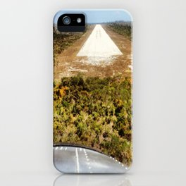 Fly On, Lover. DC-3 + Landing Strip iPhone Case