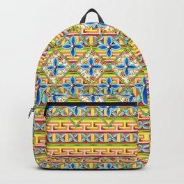 Elizabethan Rainbow Blossoms Backpack
