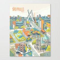 Sao Paulo Canvas Print