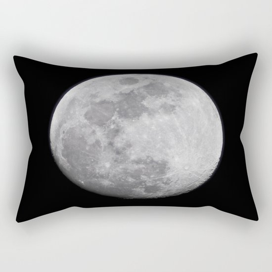 Moon #lunar Rectangular Pillow