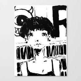 2017 Collection • Post Rock Uno Canvas Print
