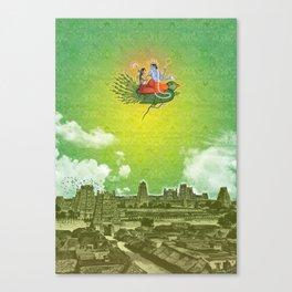 Dravidian Skies Canvas Print