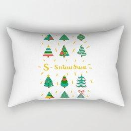 Tonatsar - Christmas tree Rectangular Pillow