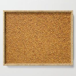 Fenugreek seeds Serving Tray