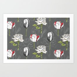 Modern Botanical Art Print