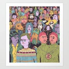 The Gathering Art Print