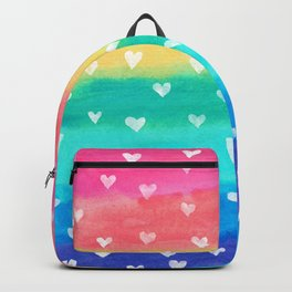 Bright Rainbow Happiness Backpack