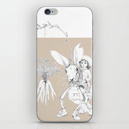 Weird & Wonderful: Harehopper iPhone Skin