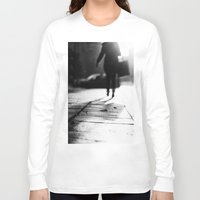 shopping Long Sleeve T-shirts featuring Light Shopping by Erik Witsoe Photography