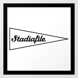 Stadiafile_Logo Art Print