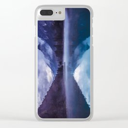 She Haunts Me Clear iPhone Case