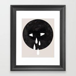 weep Framed Art Print