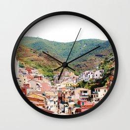 Riomaggiore, La Spezia. Wall Clock