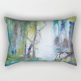 Deep in the forest Rectangular Pillow