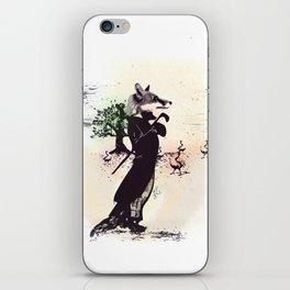 foxy uh? iPhone Skin
