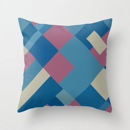 Palm Springs Pink 45 Throw Pillow