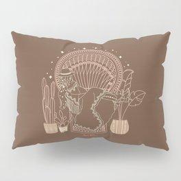 Texas Bohemia in Brown & Blush Pillow Sham