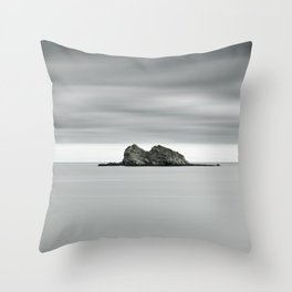 Ireland - Sleeping Lion  (RR26) Throw Pillow