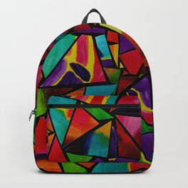Window to a Colorful Soul Backpack