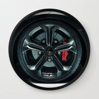 lamborghini Wall Clocks featuring Lamborghini Sesto Elemento  by Spyck