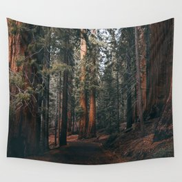 Walking Sequoia Wall Tapestry