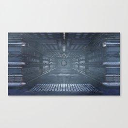 Sci-Fi Access Tunnel Canvas Print
