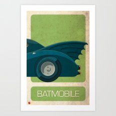 Batmobile 89 part III of III Art Print