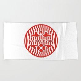 Denmark De Rød-Hvide (The Red-White) ~Group C~ Beach Towel