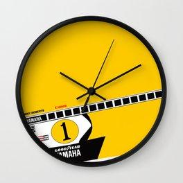 Kenny Roberts Moto Grand Prix 1979 Wall Clock