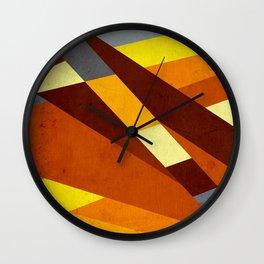 Folha seca Wall Clock