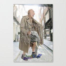 Flasher Canvas Print