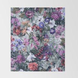 Botanical Dreams Throw Blanket