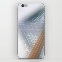 architect iPhone & iPod Skins featuring Minimalist architect drawing by Solar Designs