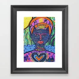 queen of the cats™ Framed Art Print
