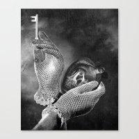 key Canvas Prints featuring Key by Jaz Henry