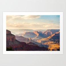 Grand Canyon at Sunset Art Print