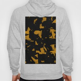 Looking For Gold - Abstract gold and black painting Hoody