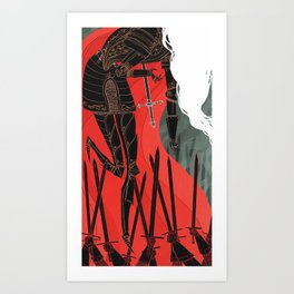 Knight of Swords Art Print