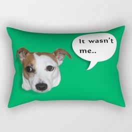 Beavis the Jack Russel  Rectangular Pillow