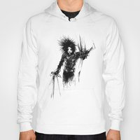 edward scissorhands Hoodies featuring Edward Scissorhands by Karbon-K