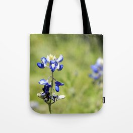 Last of the Bluebonnets Tote Bag