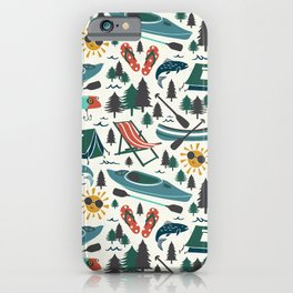 Lake Life - Summer Ivory iPhone Case