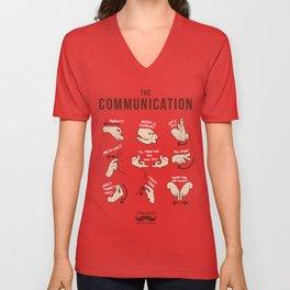 Italians Do It Different - The Communication Unisex V-Neck