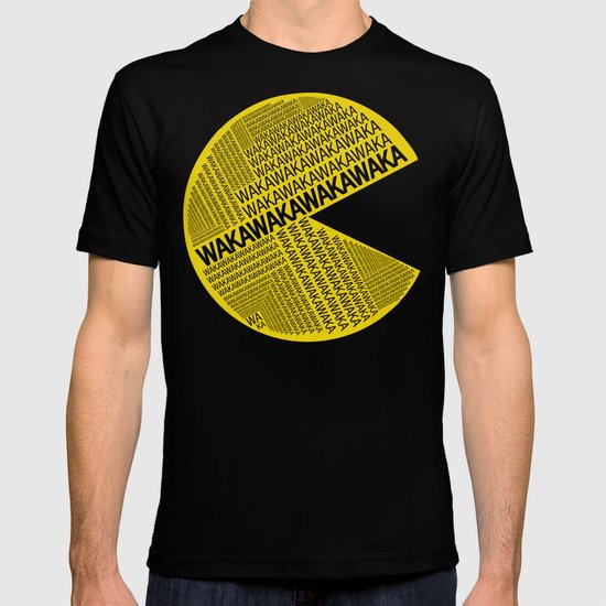 Pac-Man Typography T-shirt