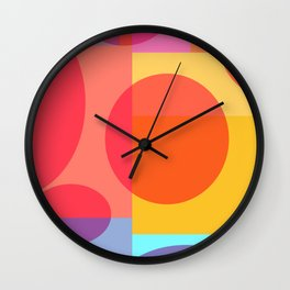 Fun Geometrics Wall Clock