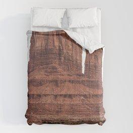 Monument Valley, Burnt Orange, Boho Decor, Desert Decor Comforters
