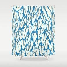 Feathered Fringe Shower Curtain