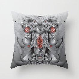 elephantmon Throw Pillow